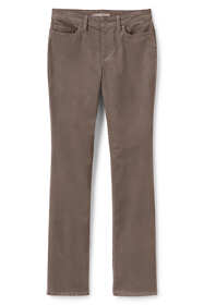 Women's Plus Size Mid Rise Corduroy Demi Boot Pants
