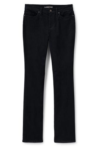 Le Semi-Bootcut en Velours Côtelé Taille Mi-Haute, Femme Stature Standard