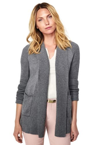 Women's Shawl Cardigan Sweater from Lands' End