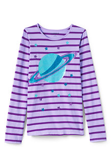 Girls' Embellished Graphic Tee