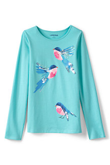 Girls' Novelty Graphic Tee