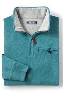 メンズ・ベッドフォード・リブ/メランジ/ポケット付き/長袖