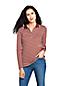 Women's Long Sleeve Striped Colourblock Pima Polo