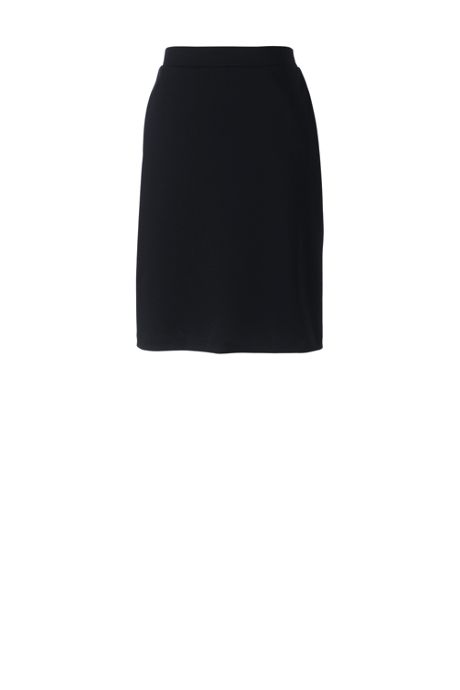 Women's Plus Ponte Straight Skirt