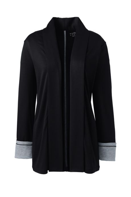 Women's Supima Micro Modal Open Front Cardigan