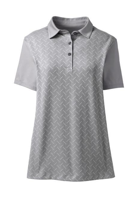 Women's Jacquard Active Polo Shirt