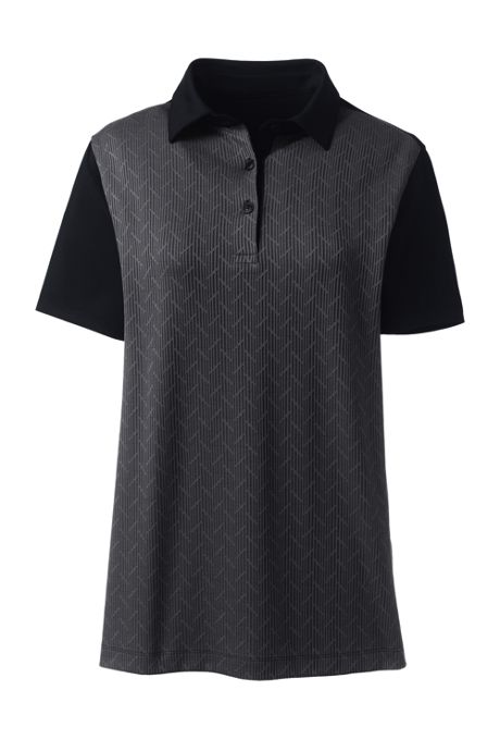 Women's Jacquard Active Polo Shirt