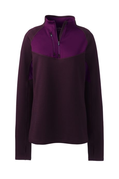 Women's Plus Size Performance Quarter Zip Pullover