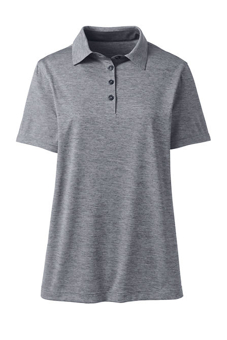 d6e709ce9e10 Women's Short Sleeve Space Dye Polo Shirt