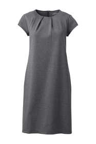 Women's Ponte Short Sleeve Dress