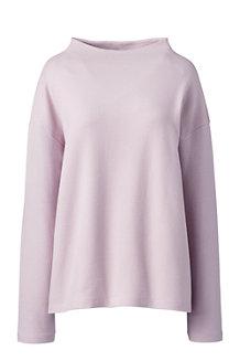 Le Sweatshirt Ample Texturé, Femme