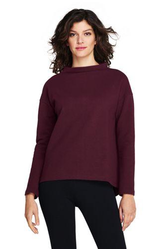 Sweatshirt aus Ottoman-Jersey