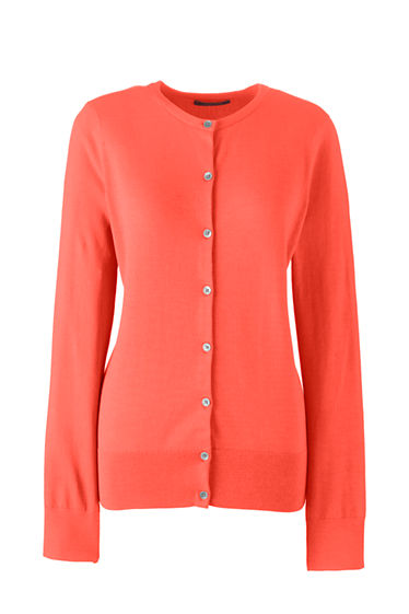 Women's Supima Cotton Cardigan Sweater from Lands' End