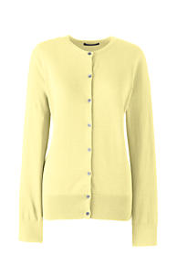 Women's Yellow Cotton Sweaters