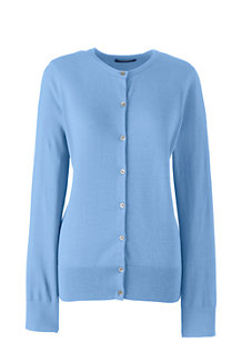 Women's Fine Gauge Supima Cardigan