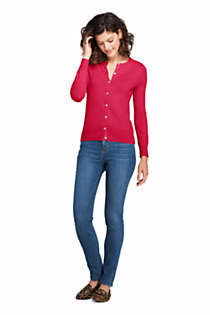 Women's Supima Cotton Cardigan Sweater, alternative image
