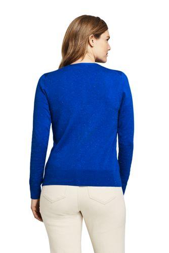 Women's Petite Supima Cotton Cardigan Sweater