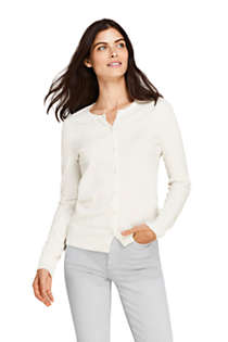 Women's Tall Supima Cotton Cardigan Sweater, Front
