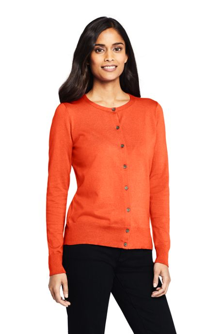Women's Supima Cotton Cardigan Sweater