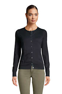 Women's Supima Cotton Cardigan Sweater, Front