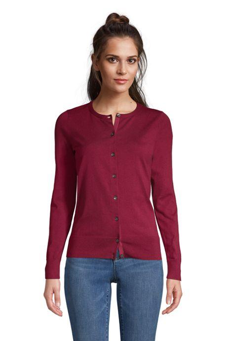 Women's Supima Cotton Cardigan Sweater