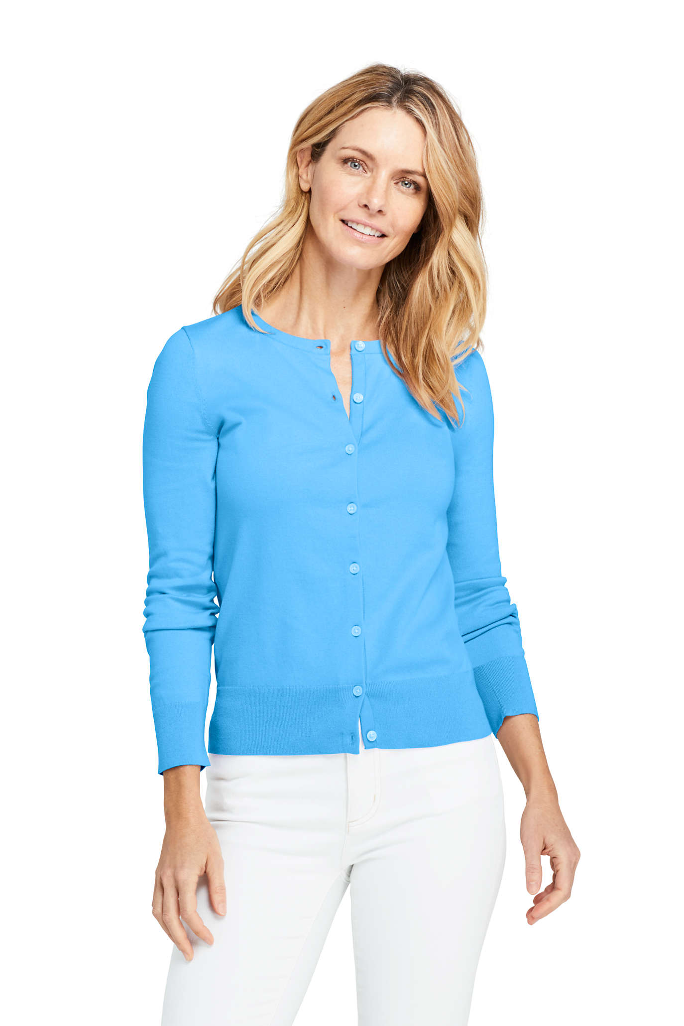 Women's Cotton Drifter Shawl Cardigan Sweater - Jacquard