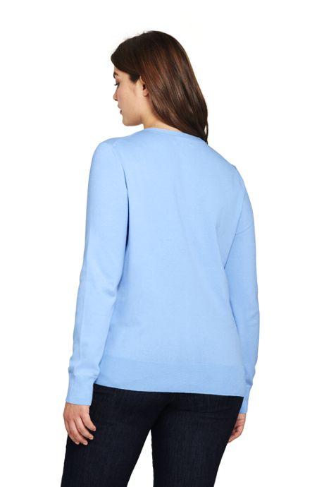 Women's Plus Size Supima Cotton Cardigan Sweater