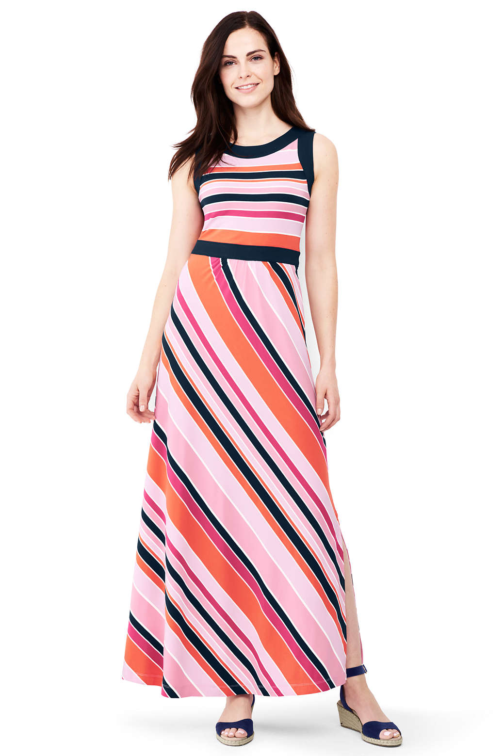 d01f0fb6d6c Women s Sleeveless Knit Maxi Dress from Lands  End