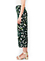 Women's Crepe Print Crop Trousers