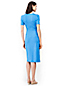 Women's Ponte Jersey Dot Wrap Dress