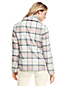 Women's Wool Blend Plaid Jacket