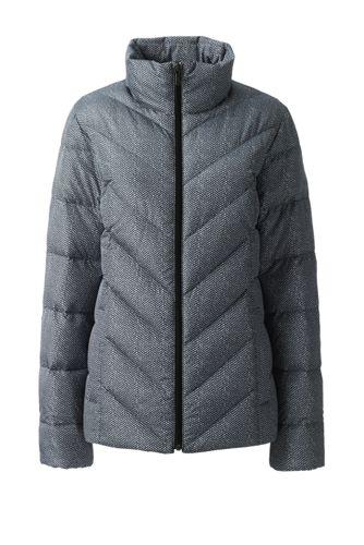 Women's Patterned Down Jacket