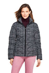 Women's Tall Print Down Puffer Jacket