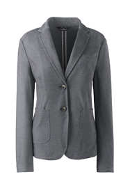 Women's Plus Twill Ponte Blazer