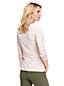 Le T-Shirt Rayé Stretch en Coton Modal à Manches Longues, Femme Stature Standard