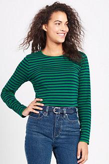 Shirt aus Baumwoll/Modalmix Gestreift