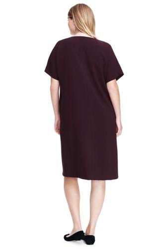 Women's Plus Size Dolman Tee Dress