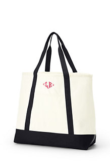 Lightweight Large Open Top Tote Bag