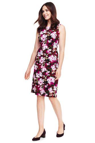 Sheath Dress with Pockets