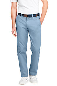 Mens Slim Fit Everyday Chinos - 38 - BLUE Lands End 0vKxS8Ms