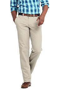 Mens Straight Fit Everyday Chinos - 30 - Green Lands End n1ddYGORi0