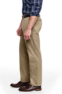 Le Chino Casual Taille Confort Coupe Droite, Homme