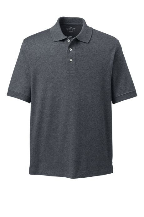Men Big and Tall Short Sleeve Performance Pima Polo