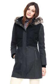 Women's Petite Hybrid Coat
