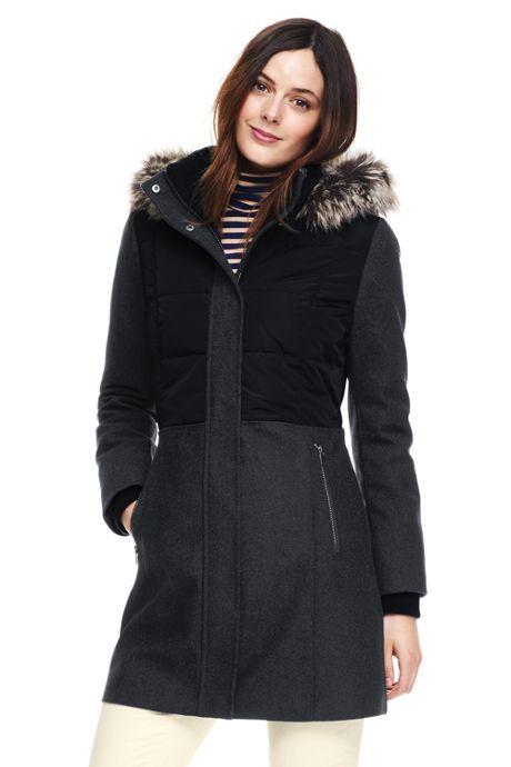 Women's Tall Hybrid Coat