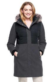 Women's Plus Size Hybrid Coat