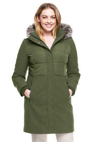 Women's Plus Size Hybrid Coat