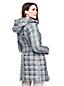 Women's Patterned Lightweight Down Long Coat