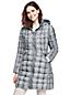 Le Manteau Galbé en Duvet Poids Plume à Motifs, Femme Stature Standard