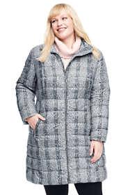 Women's Plus Size Petite Lightweight Down Coat